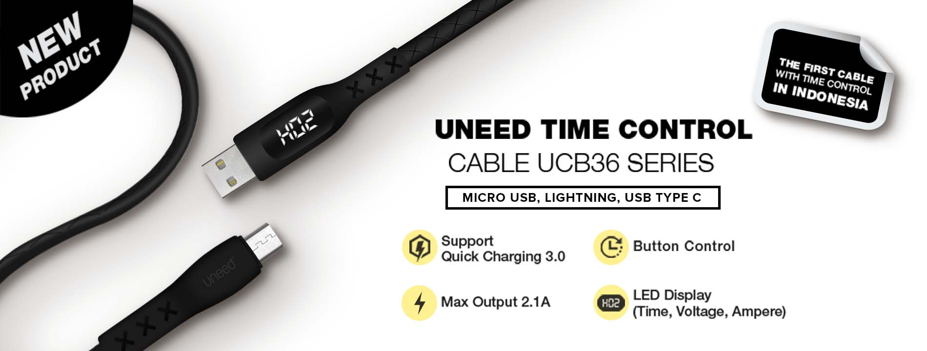 Uneed Cable Time Control UCB36