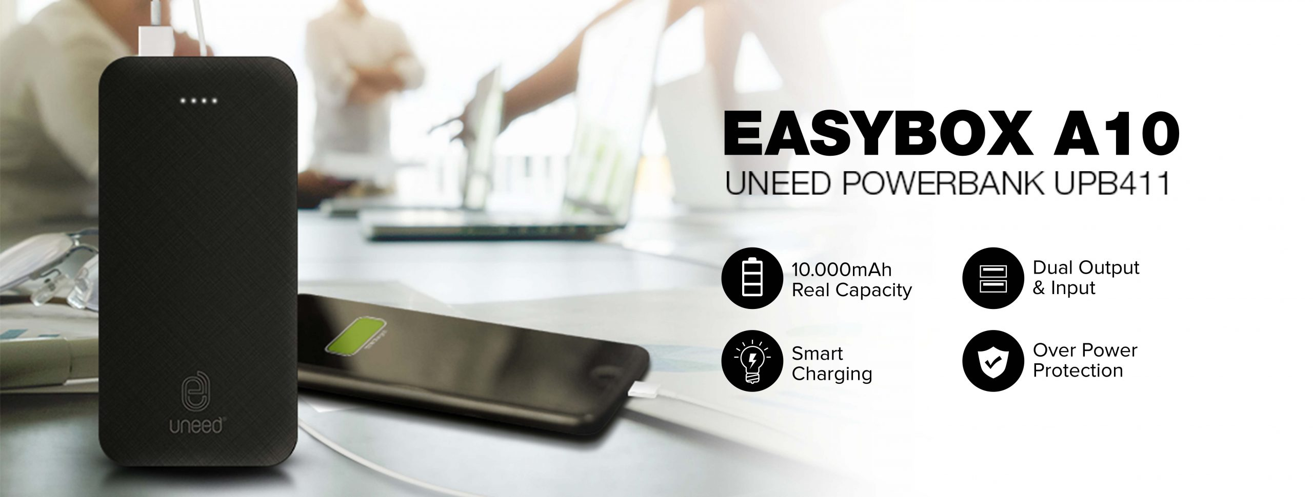 Uneed Powerbank Easybox A10